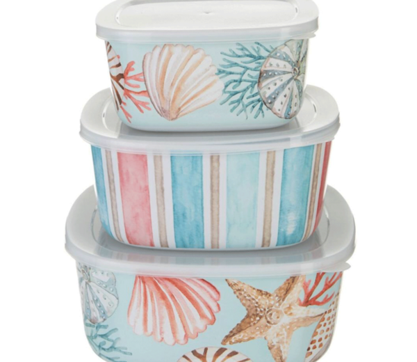 Seashell Nesting Containers