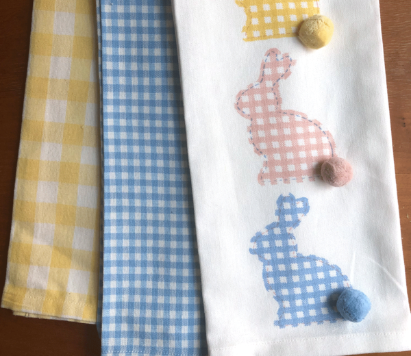 Bunny Kitchen Towel 3 pack