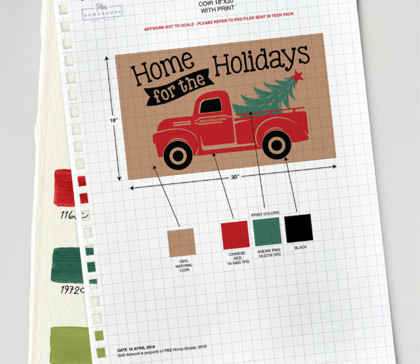 Holiday Coir Spec Sheets