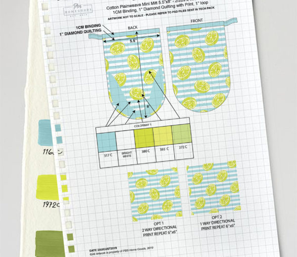 Key Lime Lexi Spec Sheets